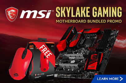 MSI Skylake Bundle Promo