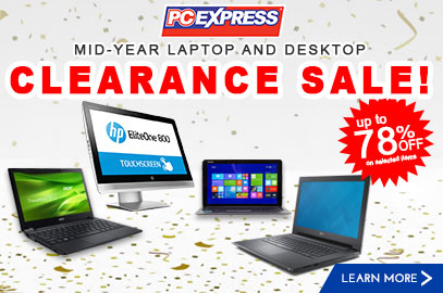 Mid-year Laptop and Desktop Clearance Sale