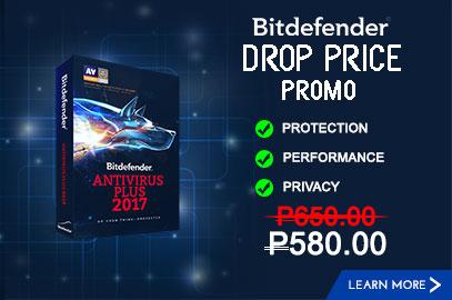 Bitdefender Drop Price Promo
