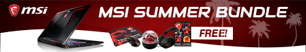 MSI SUMMER BUNDLE PROMO