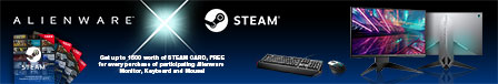 ALIENWARE STEAM BUNDLE PROMO