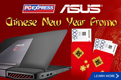 Asus Chinese New Year Promo