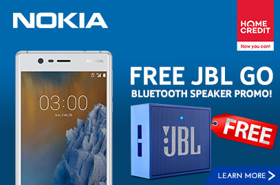 Nokia 3 with FREE JBL GO Bluetooth Speaker