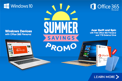 Windows Devices Summer Savings Promo