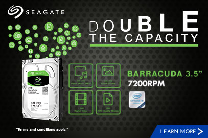 Seagate Double the Capacity