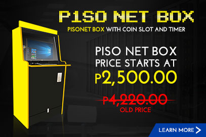 PISONET Table with Coin Slot and Timer Promo Price