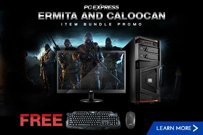 PCX Ermita and Caloocan Item Bundle Promo