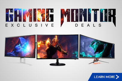 28 FEB 2018 Home » Promo » Gaming Monitor Exclusive Deals Gaming Monitor Exclusive Deals