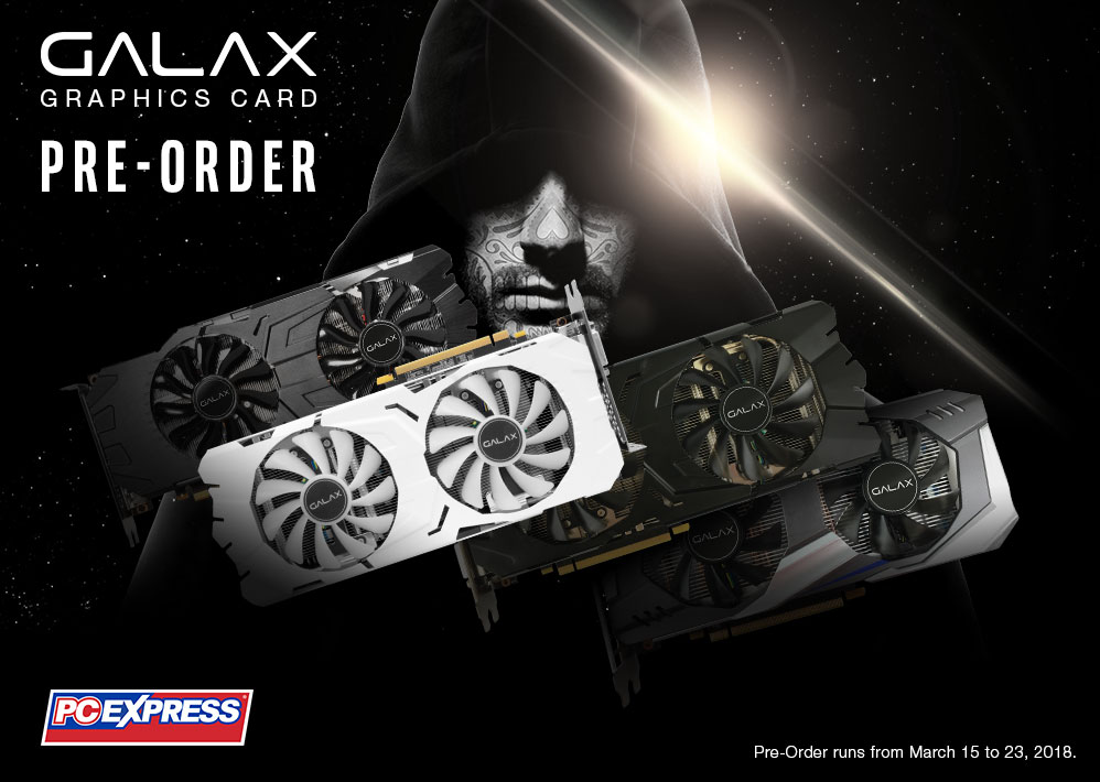 GALAX Graphics Card Pre-Order
