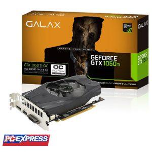 GALAX GeForce GTX 1050 Ti OC 128-bit 4GB DDR5 Graphics Card