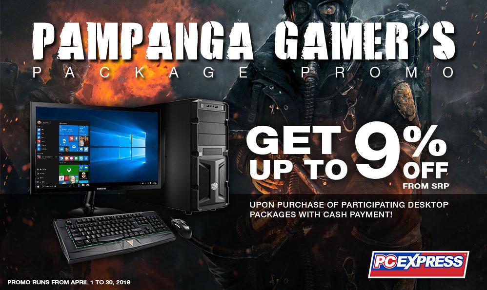 Pampanga Gamer's Package Promo