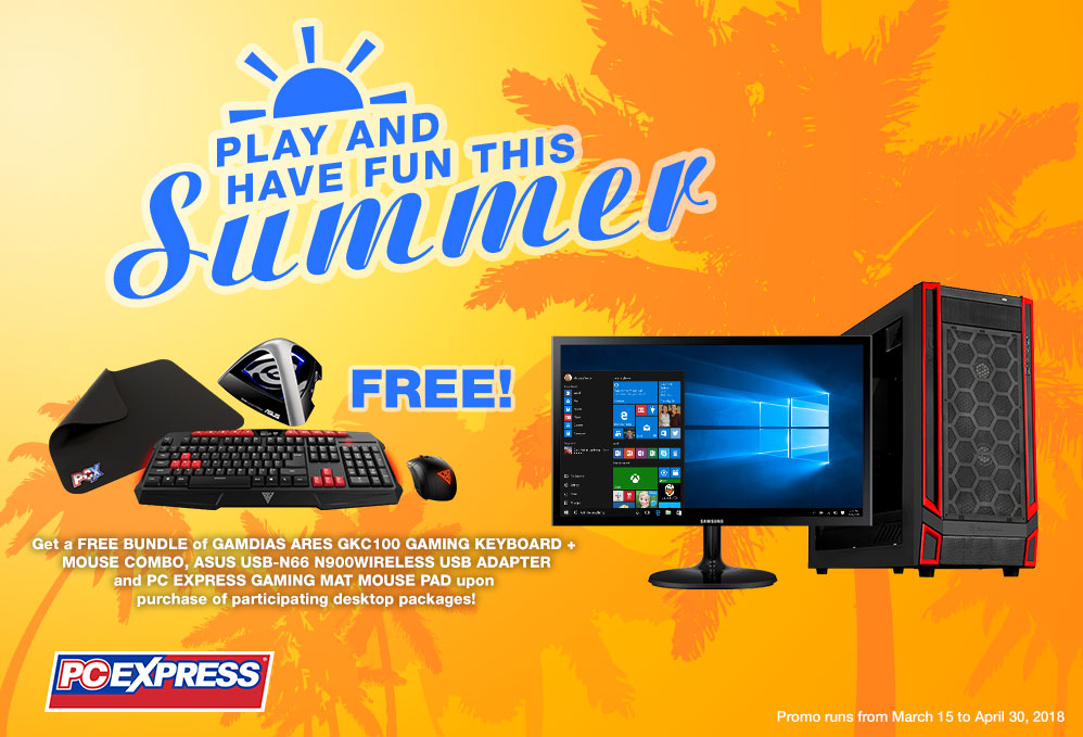 PLAY AND HAVE FUN THIS SUMMER PROMO