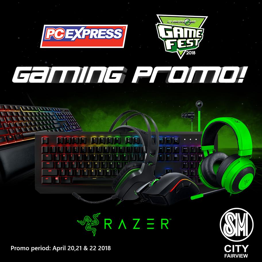 PCX SM Fairview Gamefest 2018 PROMO