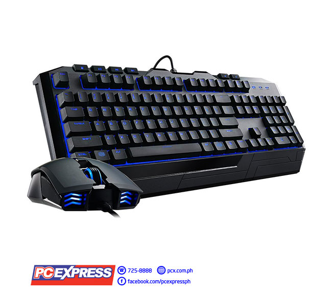 6100a89a47d CM STORM DEVASTATOR II BLUE LED GAMING KEYBOARD + MOUSE COMBO | PC ...