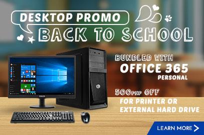 Caviteño's Back to School Desktop Packages