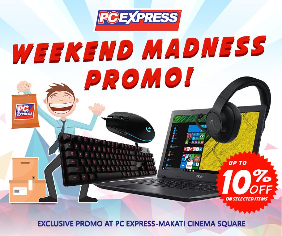 Makati Weekend Madness Promo