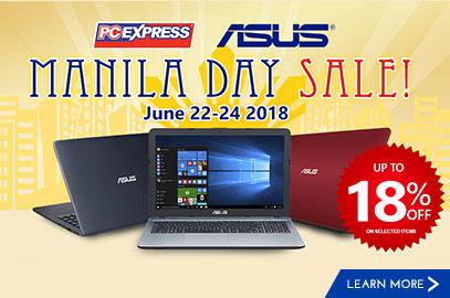 Asus Manila Day Sale