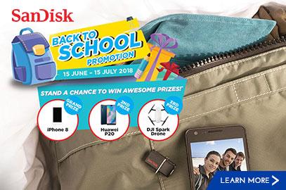 SanDisk Back to School Promo
