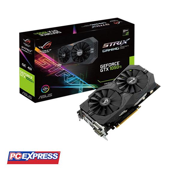 Asus ROG Strix GeForce GTX 1050Ti Gaming 4GB DDR5 with Aura Sync RGB  Graphics Card
