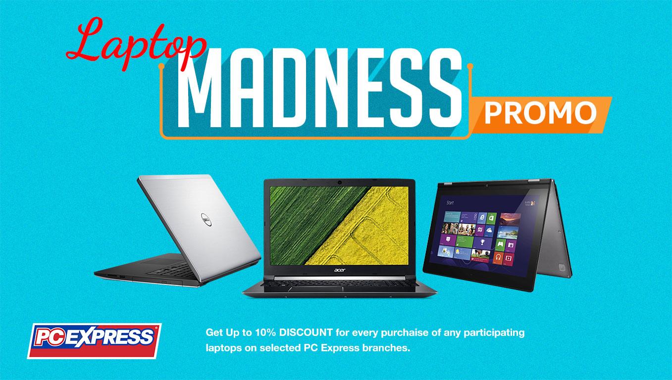 PCX Laptop Madness Promo