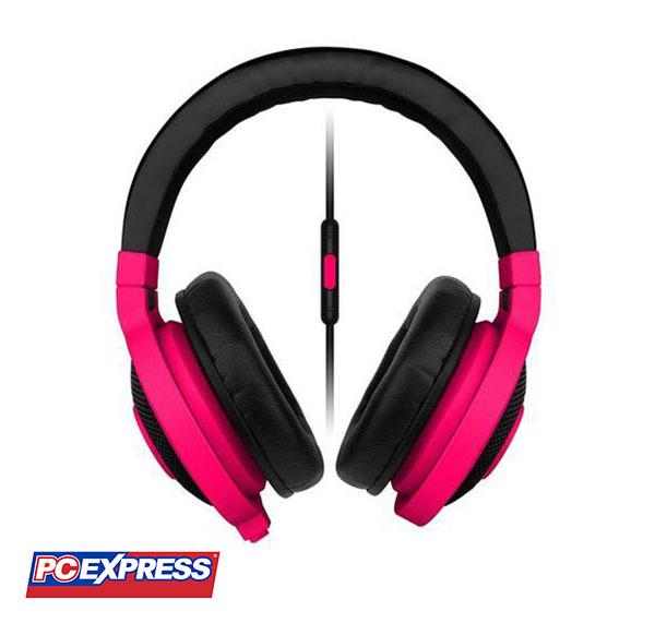 3966183f81c Razer Kraken Mobile Analog Music & Gaming Headphones (Neon Red) | PC ...