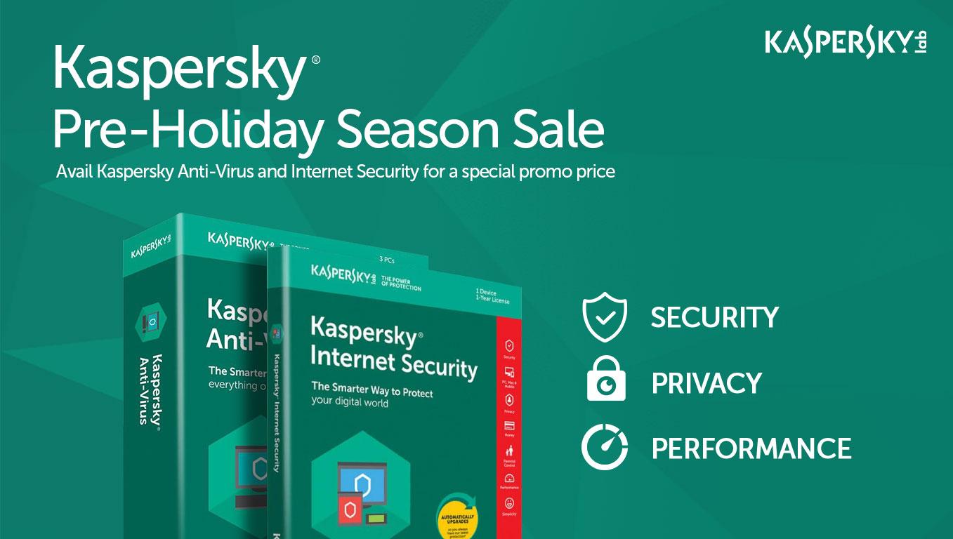 Kaspersky Pre-Holiday Season Sale