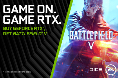 Geforce RTX Battlefield V Bundle