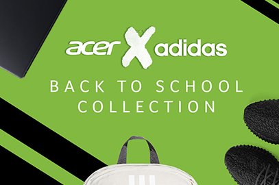 magasin en ligne a0f2a 25b84 ACER X ADIDAS BACK TO SCHOOL COLLECTION   PC Express