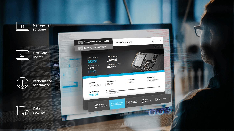 Samsung 1TB 970 EVO Plus PCIE NVME M.2 (MZ-V7S1T0BW) Solid StateDrive