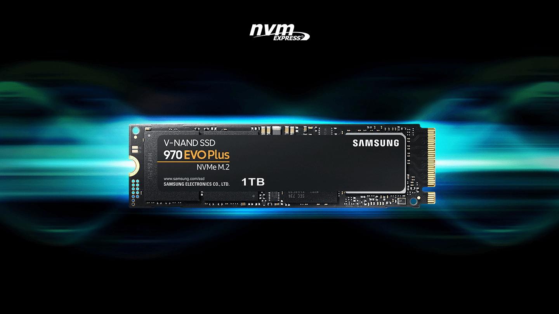 Samsung 500GB 970 EVO PLUS PCIE NVME M.2 (MZ-V7S500BW) Solid State Drive