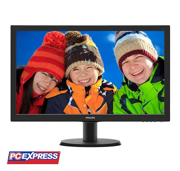 PHILIPS 243V5LSB LED 23.6-inches Monitor (Black)