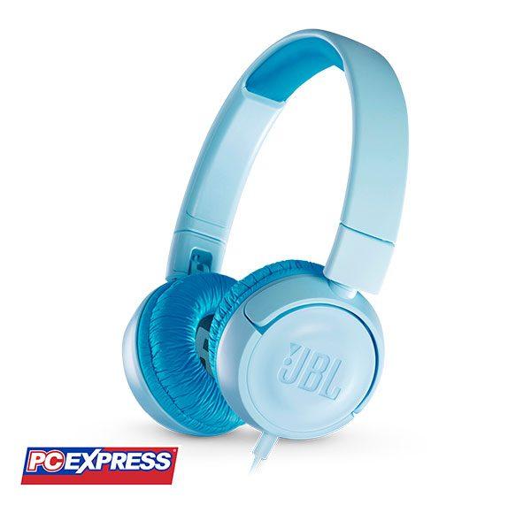 JBL JR 300 Wired Headset (BLUE)