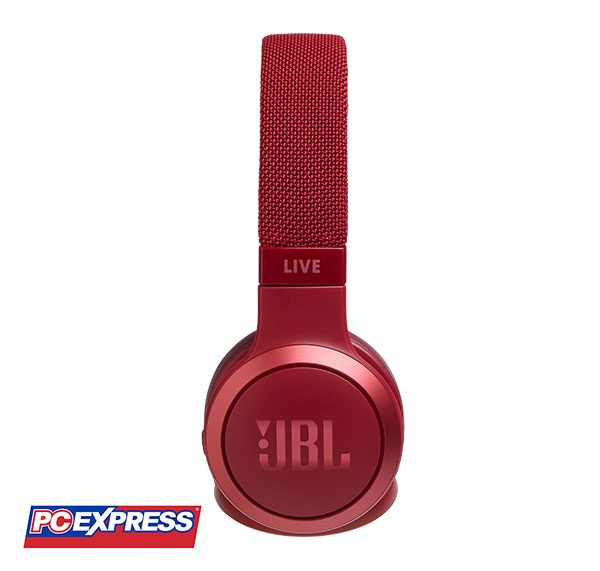 JBL LIVE 400BT Bluetooth Headset (RED)