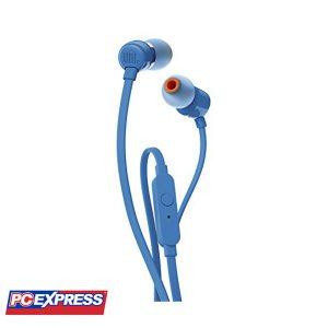 JBL T110 In-Ear Headset (BLUE)