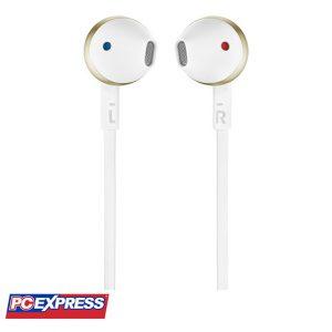 JBL T205 Headset (CHAMPAGNE GOLD)