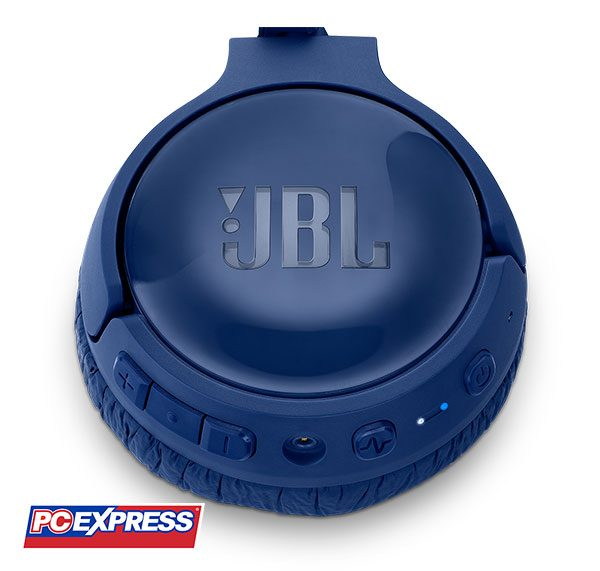JBL T600BT Noise-Cancelling Bluetooth Headset (BLUE)