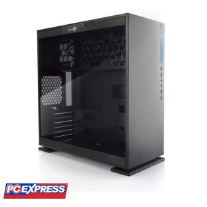 IN WIN 303 Tempered Glass Mid Tower Gaming Chassis (Black)