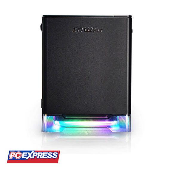 IN WIN A1 PLUS RGB BLACK WITH 650W GOLD PSU AND QI Charger Gaming Chassis