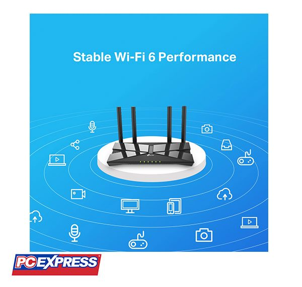 Tp-link Archer AX10 Mu-Mimo AX1500 Dual-Band wifi 6 Router
