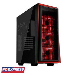 SILVERSTONE Redline 06 (SST-RL06BR-GP) Tempered Glass Gaming Case (Black/Red)