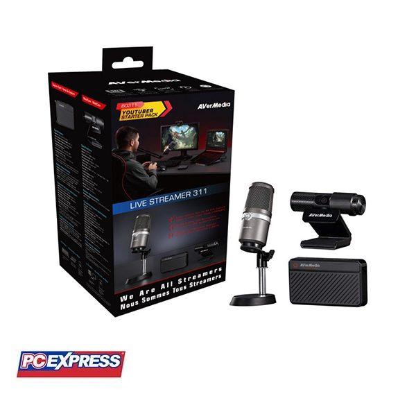AVERMEDIA Live Streamer 311 3-IN-1 Kit
