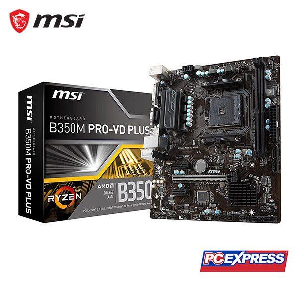 MSI B350M PRO-VD PLUS Motherboard