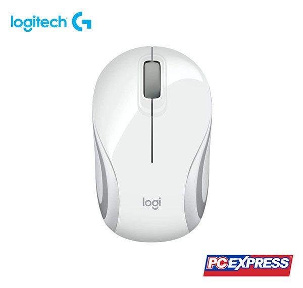 LOGITECH M187 Mini Wireless Mouse (White)