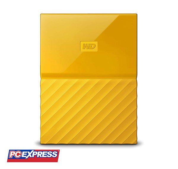 WESTERN DIGITAL 4TB MY PASSPORT III Hard Drive (Yellow)