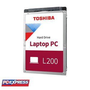 TOSHIBA 1TB 5400RPM 7MM 128MB SATA (L200) MOBILE HARD DRIVE