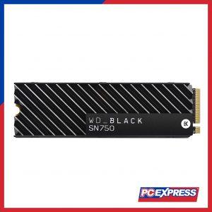 Western Digital 1TB SN750 NVME PCIE M.2 (WDS100T3X0C) Solid State Drive (Black)