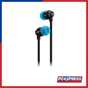LOGITECH G333 In-Ear Black (WITH MIC, 3.5MM + USB C) Gaming In-Ear Headset